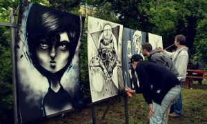 LIVE PAINTING NA [[[TRIDENT OPEN AIR !!!